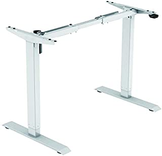 Jet-line Homeoffice - Base para mesa de oficina eléctrica de altura regulable sin niveles con motor ergonómico escritori...