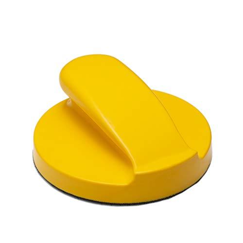 Best Deals! Glass Polish GP15903 Hook and Loop Hand Sanding Block, Sanding Pad/Diameter 5 inch