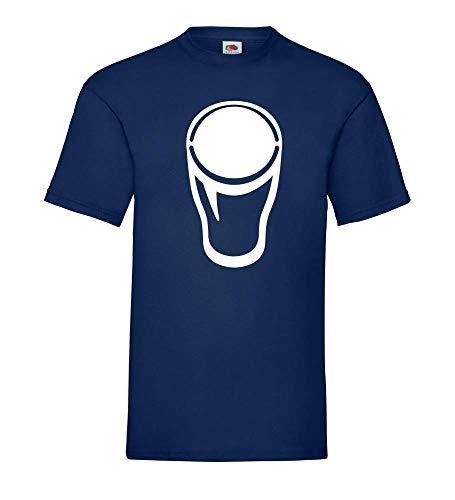 1 Pint glas - bierglas mannen T-shirt - shirt84.de