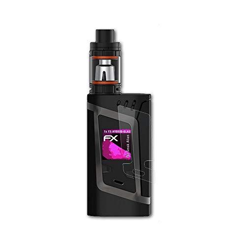 atFoliX Glasfolie kompatibel mit Smok Alien Panzerfolie, 9H Hybrid-Glass FX Schutzpanzer Folie