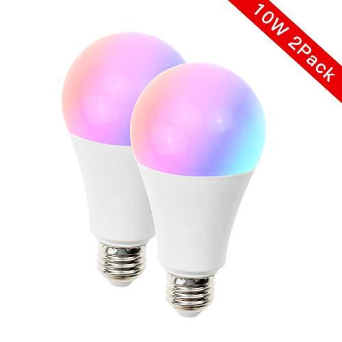 Light Bulbs 5W, 4 Pack FRANKEVER MR16 GU10 Base 120V Google Home ...