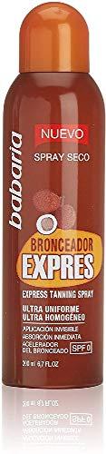Babaria Bronceador Express Vaporizador SPF0 Protector Solar - 200 ml (8410412028554)