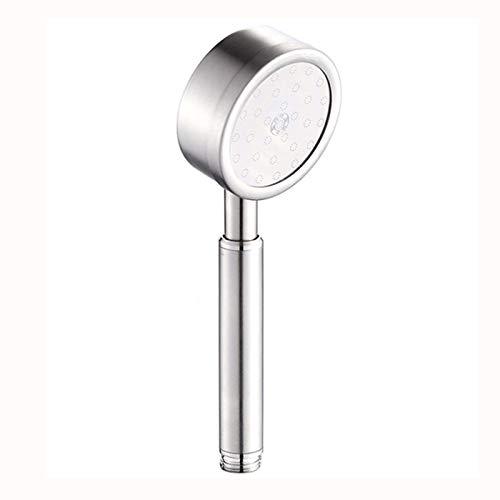 KangYD Alcachofa, Ducha de mano de alta calidad, ducha de mano, ducha y manguera de acero inoxidable 304 presurizado con acabado cepillado