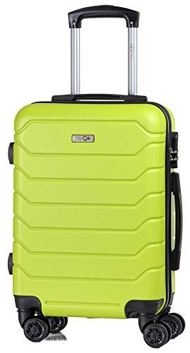 CABIN 5502 - Trolley rigido in ABS 8 ruote 55x37x20 cm utilizzabile come bagaglio a mano di dimensioni standard.