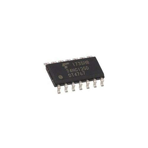 12x 74HC125DBJ IC digital 3-state, bus buffer, non-inverting Channels4
