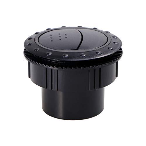 Wakauto 1 Piezas de Salida de Aire Acondicionado Práctico Abs Salida de Rejilla Profesional Piezas de Coche Ventilación para Auto Vehículo de Motor