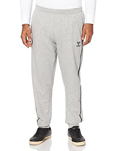 hummel HML Sweat Regular Pant SMU Pantalones de chándal, Gris, XX-Large para Hombre