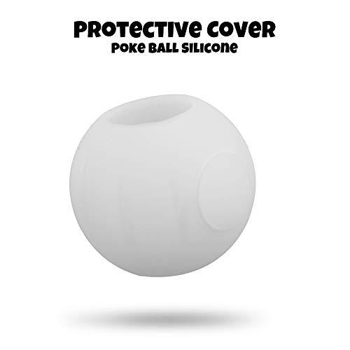 Fesjoy 1pcs étui en Caoutchouc de Couverture de Protection en Silicone pour Enfants Enfants Nintendo Switch Poke Ball
