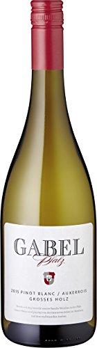Weingut Gabel Pinot Blanc Auxerrois QW Großes Holz 2017 trocken (6 x 0.75 l)