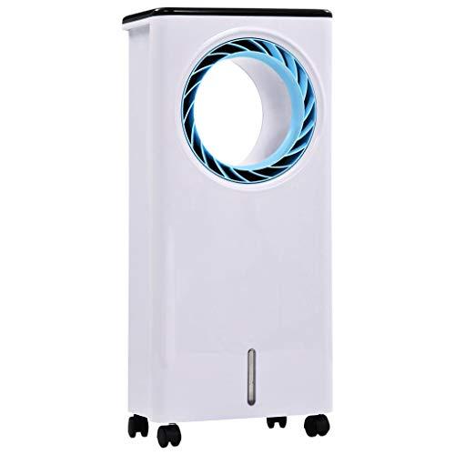 vidaXL 3-in-1 Mobiler Luftkühler Luftbefeuchter Luftreiniger Klimaanlage Klimagerät Luftfilter Lufterfrischer Raumbefeuchter Kühler 80W