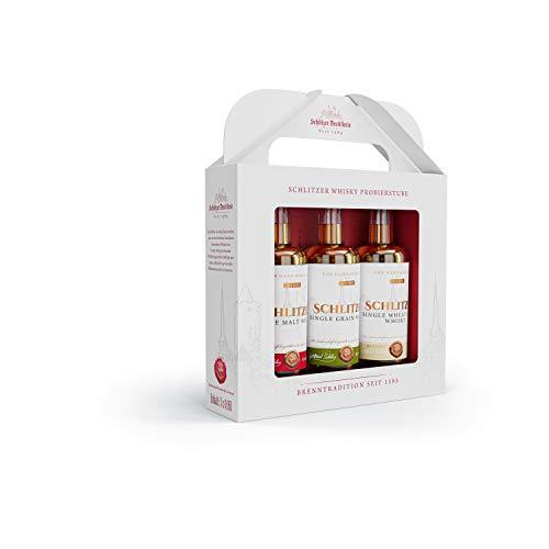 Schlitzer Destillerie Schlitzer Whisky Tasting Klassiker-Box (3x0,05l), 0,15