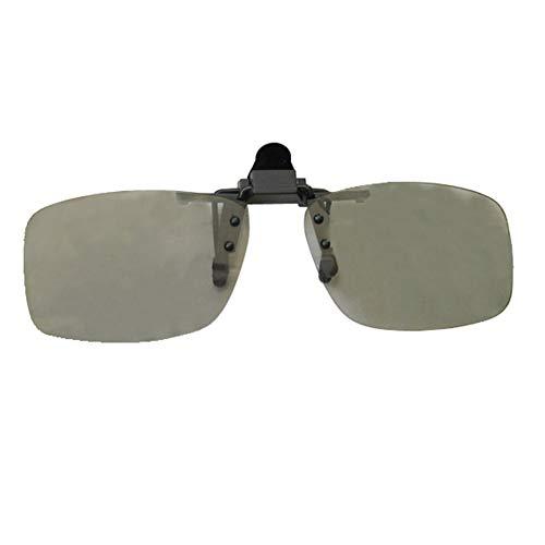 YABAISHI Clip de Gafas 3 en 3D en el Cine y 3D en el Pub (Color : 1)