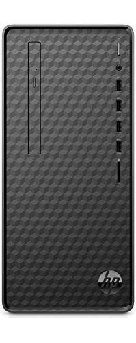 HP Computers Desktop M01-F1040ns PC - Desktop (AMD Ryzen 5 4600G, 16 GB RAM, 512 GB SSD, grafica AMD Radeon, senza sistema operativo, colore: nero