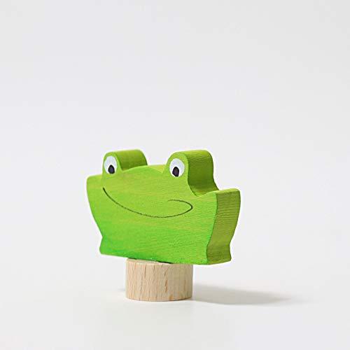 Grimm's Spiel und Holz Design Steckfigur Frosch 2