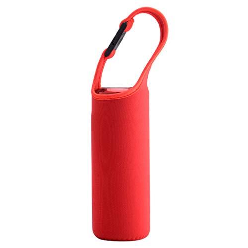 S-TROUBLE Caja de Botella de Agua Cubierta de Aislamiento térmico Bolsa Bolsa Aislante Portador para Exteriores
