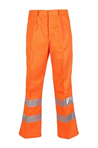 Seba 385F AV broek Orange Fustagno L Oranje.