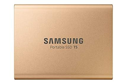 Samsung MU-PA1T0G 1000 GB Oro - Unidades externas de estado sólido (1000 GB, USB Tipo C, 3.1 (3.1 Gen 2), 540 MB/s, Protección mediante contraseña, Oro)
