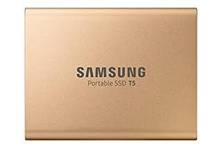 1TB Samsung Portable SSD T5, External, Rose Gold, USB 3.1 Gen2 Type-C (10Gbps), 540MB/s Transfer, 2x Cables, Retail - MU-PA1T0G/EU (B07QRQ544G) | Amazon price tracker / tracking, Amazon price history charts, Amazon price watches, Amazon price drop alerts