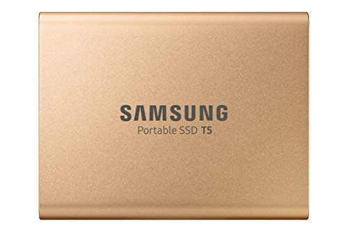Samsung T5 Portable SSD 1TB - USB 3.1 External Solid State Drive with V-NAND Flash Memory Technology (MU-PA1T0G/WW) - Rose Gold