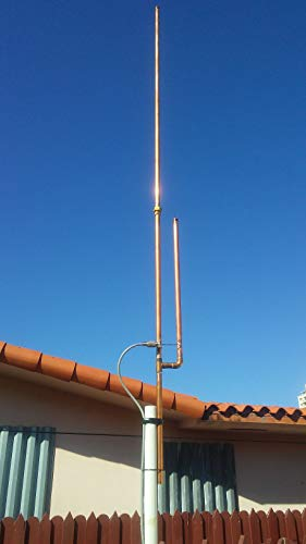KM4HLF J-Pole Antenna for The 2 Meter HAM Radio Band 144 to 148 MHZ