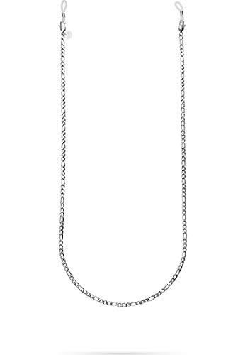 GMK Damen-Brillenkette Edelstahl One Size Silber 32014383