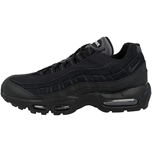 Nike Air Max 95 Essential, Scarpe da Running Unisex Adulto, Nero (Black/Black/Anthracite/White 001), 42 EU