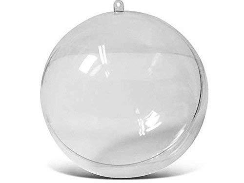 divisible Transparent Acrylique Boule Sphère en Plastique Boule en plastique Ø 16 cm