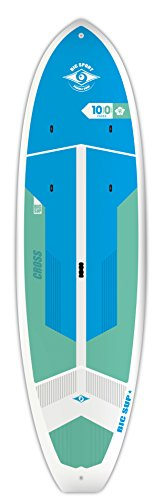 BIC Sport ACE-TEC Cross Sup Stand Up Paddleboard, Fit Gloss White/Blue/Aqua, 10'0""