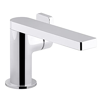 KOHLER Composed K-73167-4-CP Single Handle Single Hole Bathroom Sink Faucet with Metal Drain Assembly in Polished Chrome