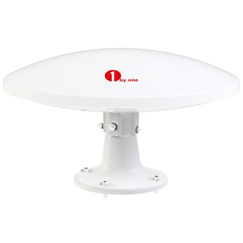 ​ 1byone Amplified Omni-directional Waterproof RV Antenna