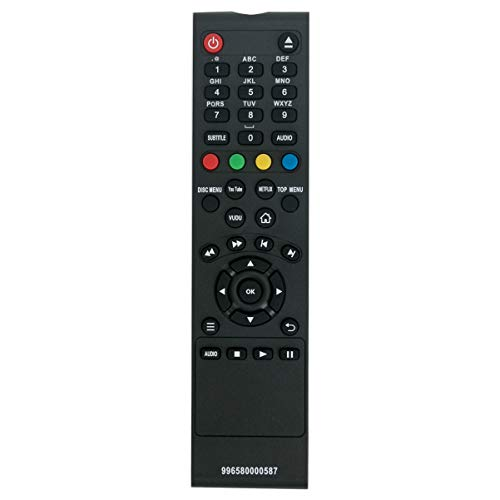996580000587 Replacement Remote Control Applicable for Philips BDP2285/F7 BDP2305/F7 BDP2205/F7 BDP2285/F7B BDP2385/F7B BDP2285 BDP2305 BDP2205 BDP2385 Blu-ray Disc DVD Player