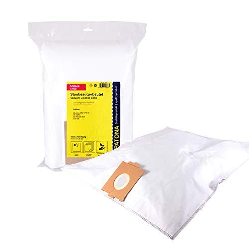 PATONA 5x Sacchetti per aspirapolvere compatibile con Festool CT36 CTL36 CTM36 CT HEPA FIS-CT36/5 496186, vello sintetico