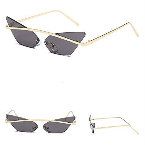Gafas De Sol Lady Cat Eye Gafas De Sol Retro Gafas De Sol Transparente Negro