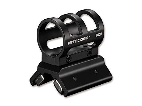 Nitecore GM02MH - Soporte magnético para linternas de Bolsillo, Color Negro, Talla única