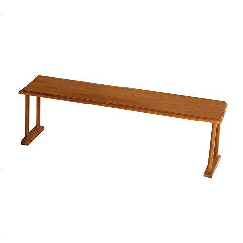 Lipper International 8879 Bamboo Wood Over-The-Sink Kitchen Shelf, 30
