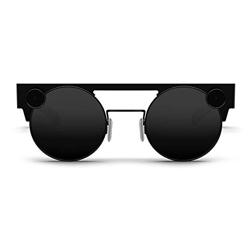 Spectacles 3 — 3D Camera Glasses, Made by Snapchat (60fps HD Action Camera) (Carbon)