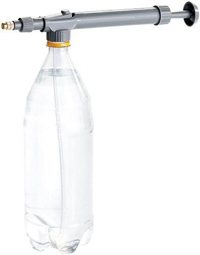 Royal Gardineer Sprühflasche Metall: Universal-Druck-Sprühaufsatz für PET-Flaschen (Sprühflasche Pflanzen Metall)