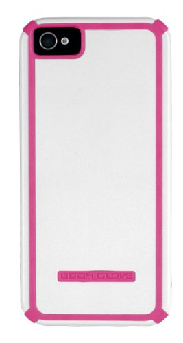 Body Glove Tactic Cell Phone Case for iPhone 5/5s/SE, White/Pink