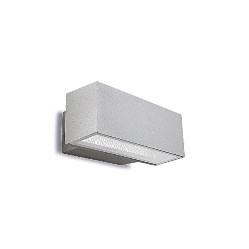 LEDs C4 05-9438-34-37 applique afrodita 1xrx7s hit-de-70w gris