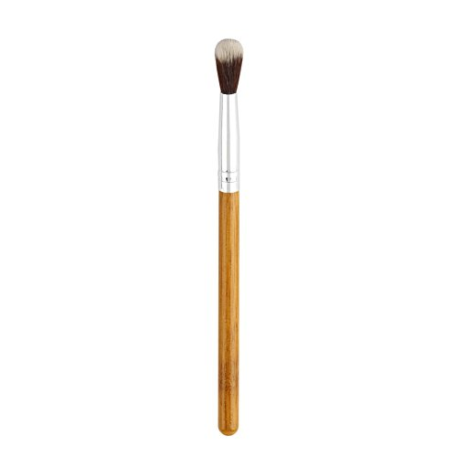 FBGood Pinceau à Paupières Fibre Synthétique - Pinceaux de Maquillage pour Les Yeux pour l'ombrage ou Le Mélange de Crème à Paupières en Poudre Sourcils Cosmétique Pinceau Outil (Marron)