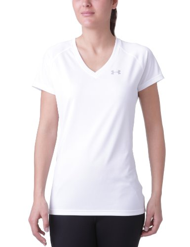 CAMISETA FEM UNDER ARMOUR TECH 1228321-100 PP BRAN
