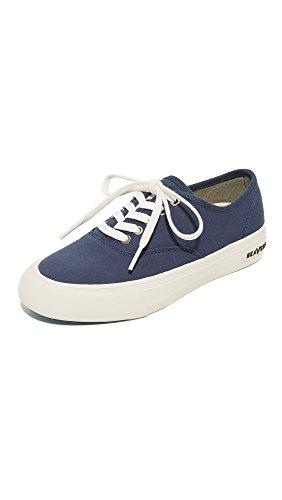 SeaVees Women's Legend Standard Sneakers, True Navy, 8 B(M) US