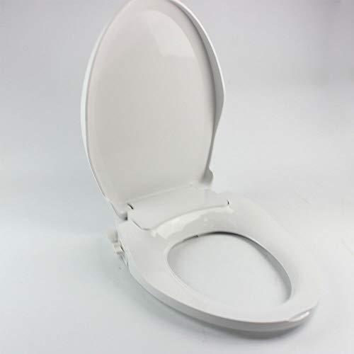 Non-Electric Washlet Toilet Bidet Seat wc Dual nozzles sprayer Hygienic V Style Stock Non Electric Smart Auto Bidet Toilet Seats Cold Water Spray Bidet Toilet Seat