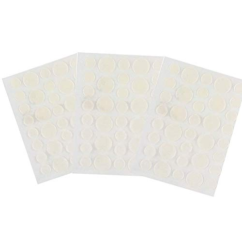 Patch de couverture contre l'acné, hydrocolloïde transparent, correcteurs de bactéries anti-cernes imperméables, ensembles de boutons de guérison rapide pour le corps/le visage (3 set)