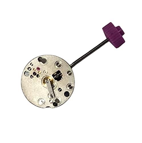 XINGFUQY Reloj Accesorios de Movimiento Suiza 1042 Movimiento Dos Calendario DE Aguja Movimiento de Cuarzo sin batería