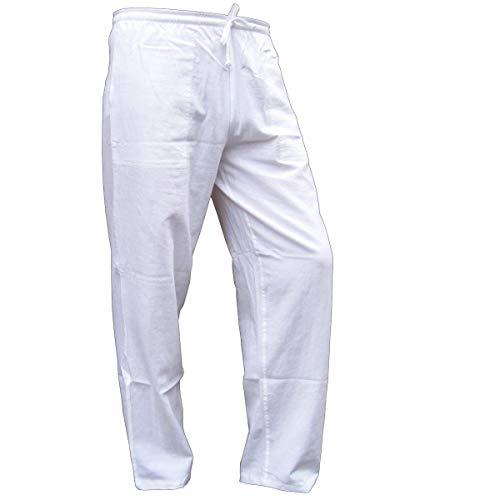 PANASIAM Sommerhose, K\', White, XL