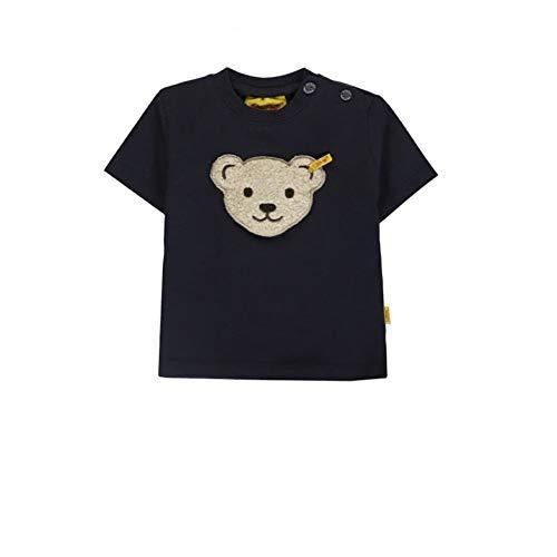 Steiff T-Shirt Marine Gr. 62 mit Quietscher Oberteil Shirt Kurzarm