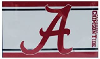 NCAA Alabama Crimson Tide Stripe Flag, One Size, Multicolor