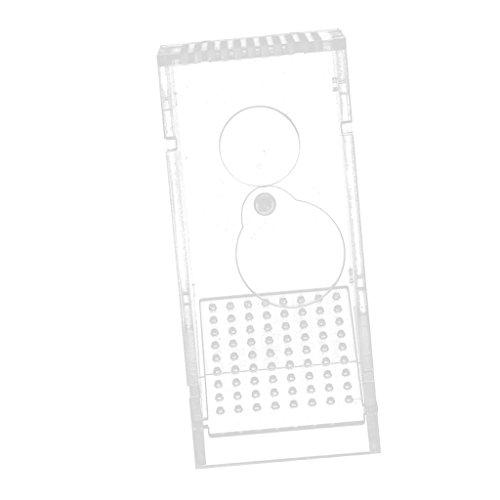 Sharplace Boîte de Piège de Poisson Crabes Crevette pour Aquarium Réservoir de Poisson Transparent