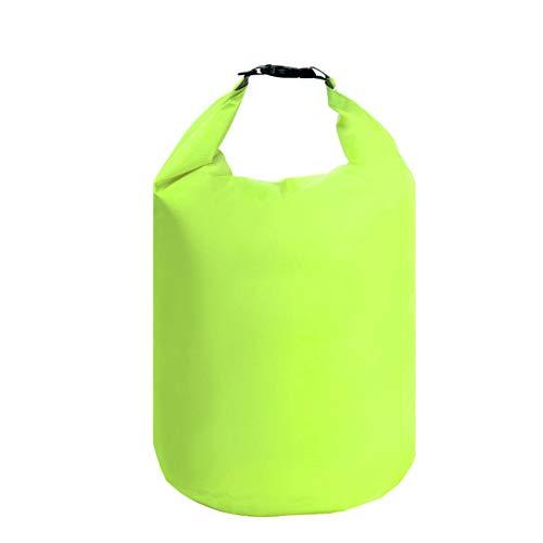 SegRJ10/20/40/70L - Bolsa seca impermeable para nadar al aire libre, acampada, rafting, 70 l, color morado, color verde, tamaño 10 L